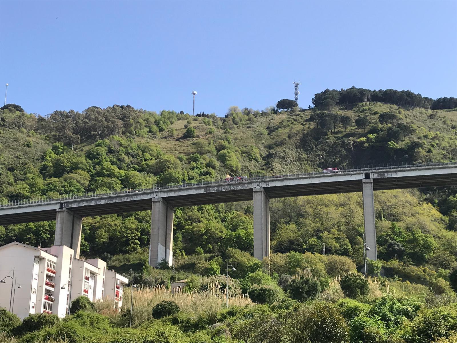 Tragedia nel Vibonese, si getta dal viadottoAccosta sull'autostrada e scavalca la recinzione