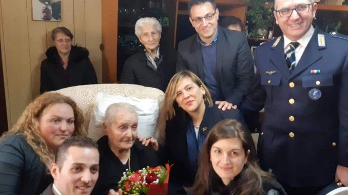 Serra San Bruno, Maria Assunta Pupo compie 100 anniLa commozione della comunità per la nonna dei serresi