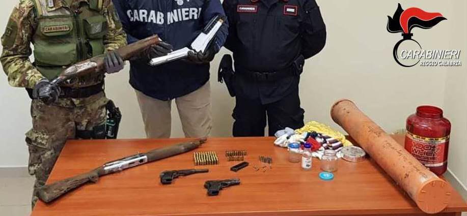 Armi e munizioni nella lavatrice e in un terrenoCarabinieri arrestano un uomo nel Reggino