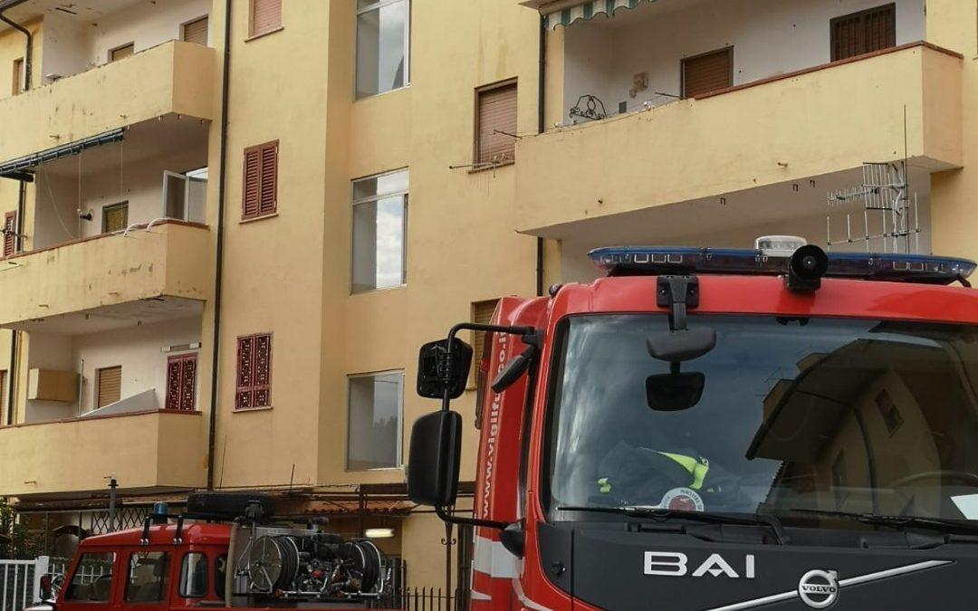 Incendio in un appartamento del Cosentino  Salvato in cane rimasto intrappolato all'interno