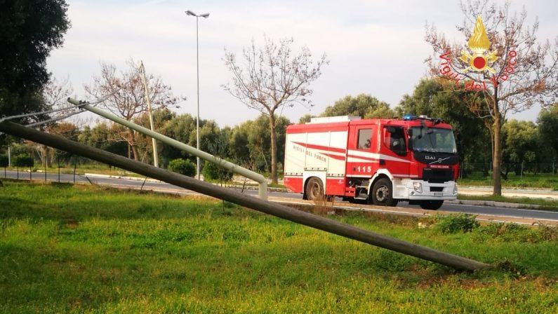 Pali Telecom tagliati per rubare i cavi in rameDanneggiata la rete a Lamezia, avviate indagini