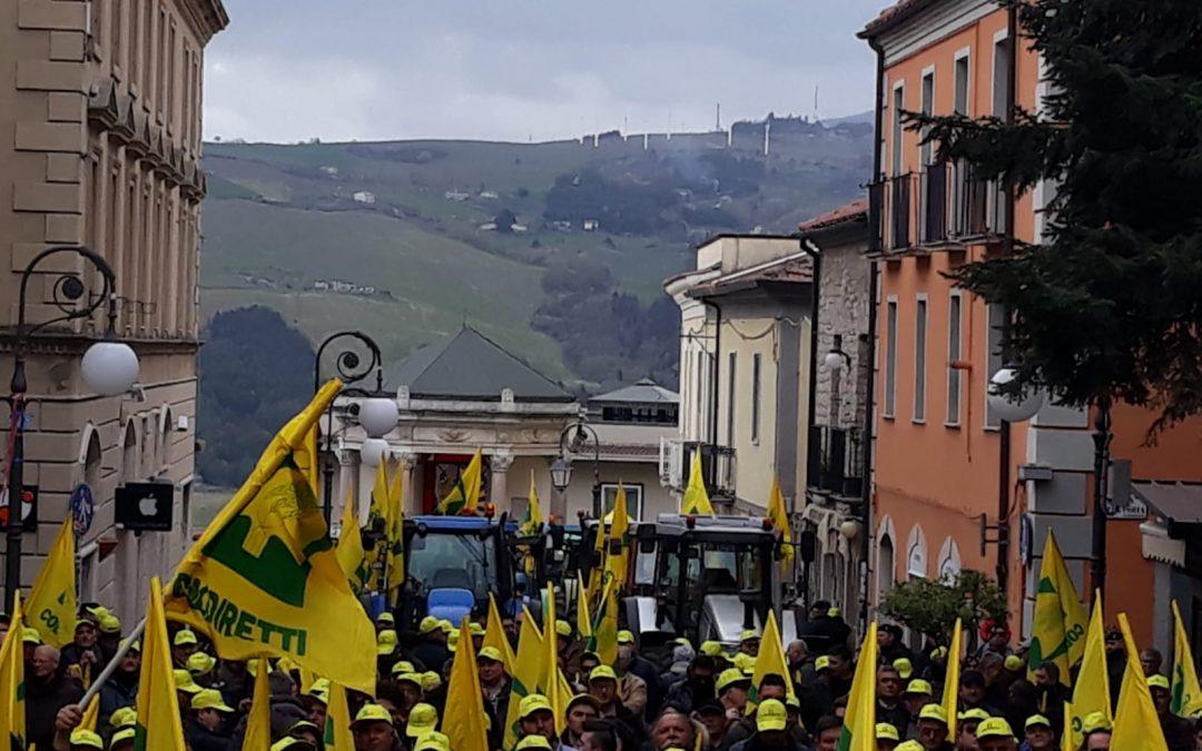 Coldiretti Basilicata riparte dalla piazza: «Basta burocrazia»