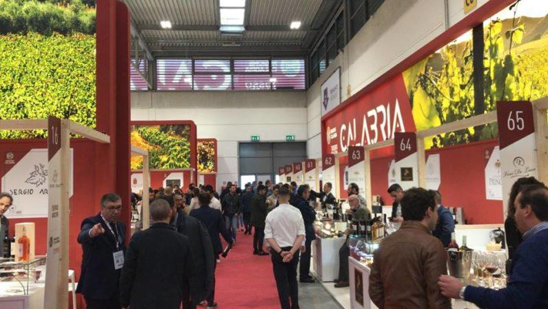 Lo stand della Regione Calabria conquista il VinitalyEdizione record con oltre 73 cantine e 2 Consorzi
