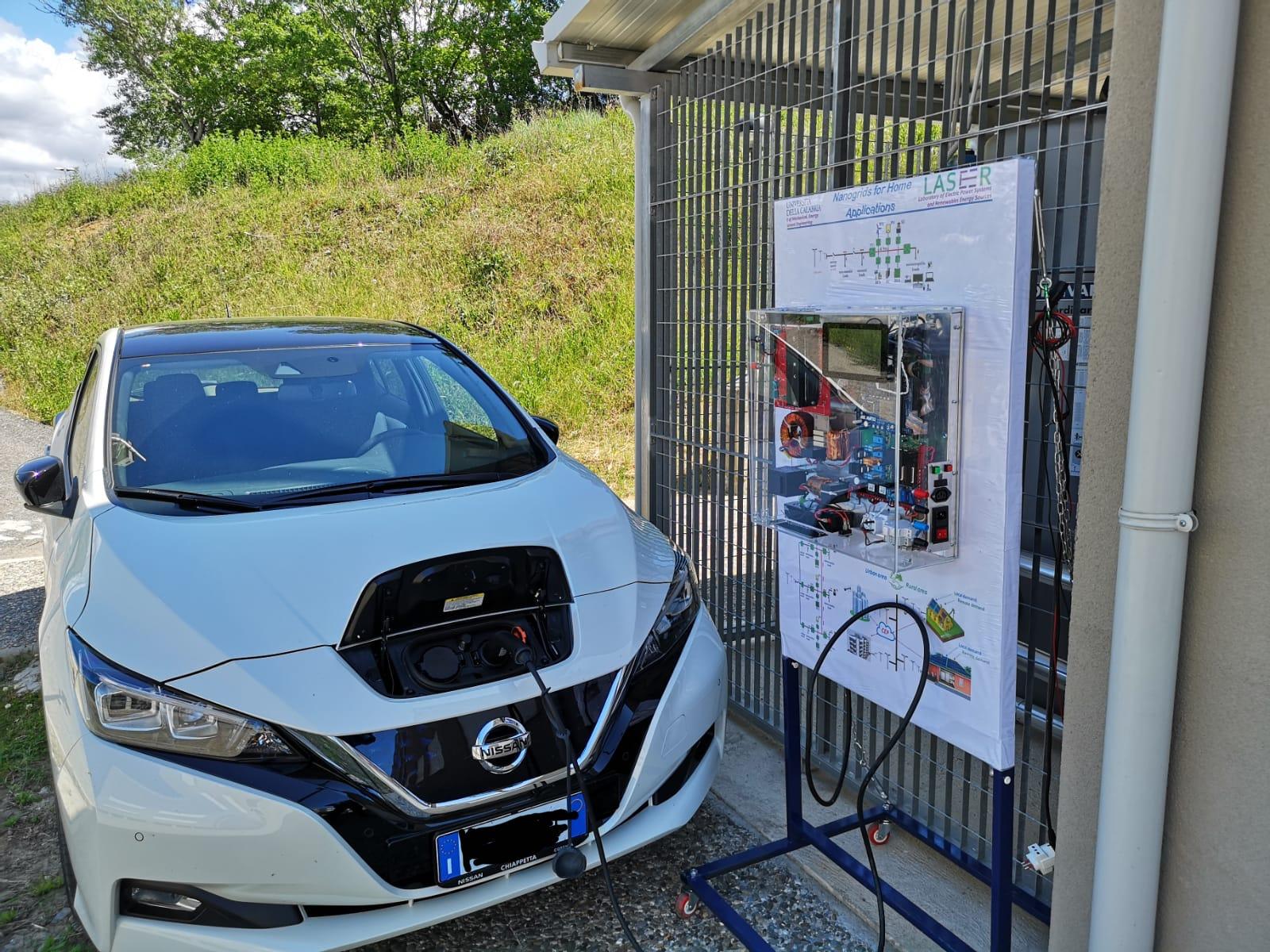 L'Unical punta sulla innovazione nei veicoli elettriciL'obiettivo è alimentare le case con le batterie delle auto