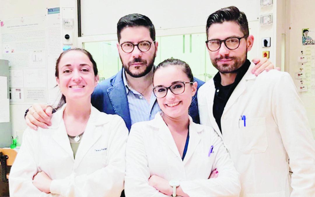 Carmine Rocca, il Prof Tommaso Angelone,  Teresa Pasqua e  Maria Concetta Granieri