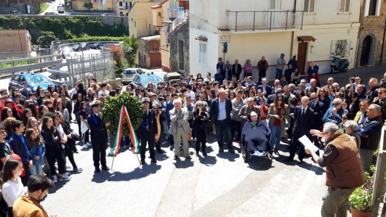 Lamezia Terme commemora Pasquale Cristiano e Francesco Tramonte28 anni fa la loro morte rimasta ancora senza colpevoli