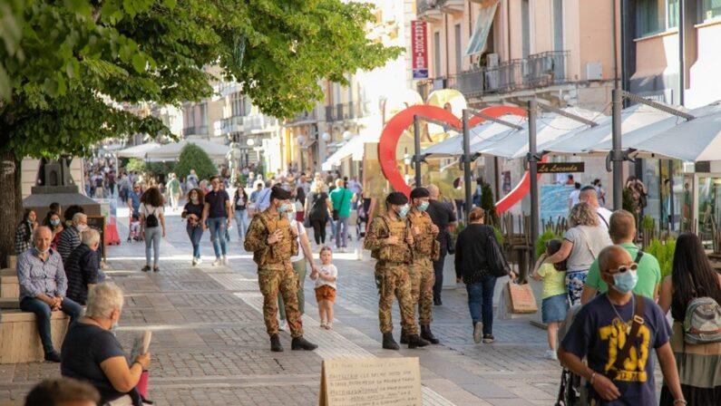 """Operazione """"Strade sicure"""" per il coronavirus, l'Esercito avrà sede a Catanzaro"""