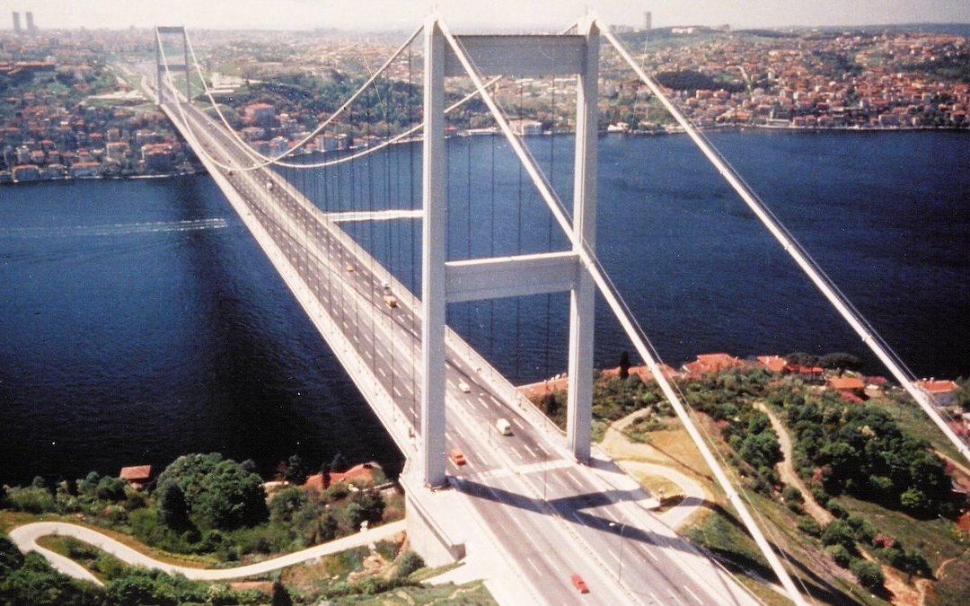 Il progetto del ponte sullo stretto di Messina