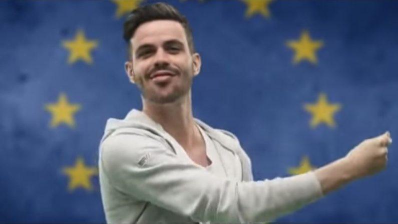 Lorenzo Baglioni lancia il suo Inno neomelodico dell'EuropaLa Musica per diffondere la forza dell'Unione e invitare al voto