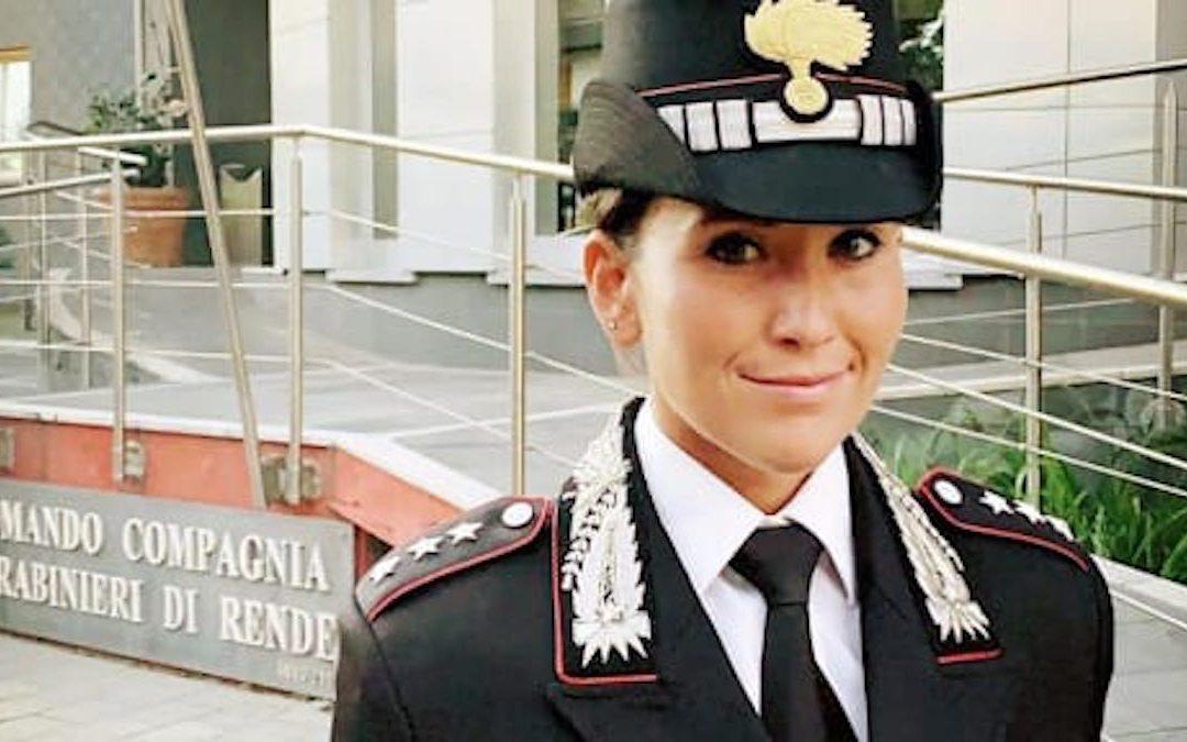 Il capitano Mariachiara Soldano