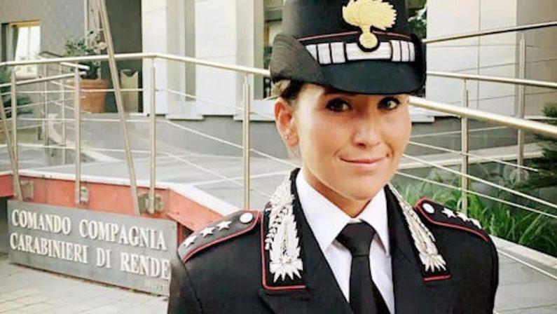 Carabinieri, a Rende la prima donna al comando di una Compagnia in Calabria