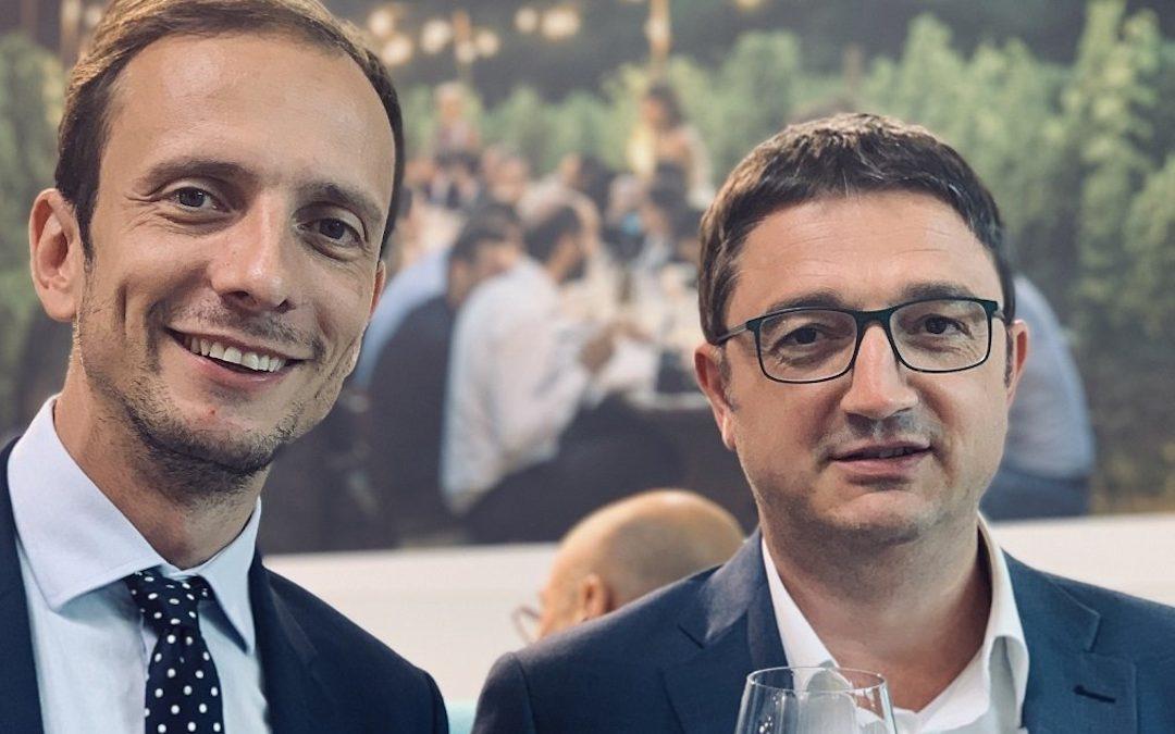 Massimiliano Fedriga, presidente della Regione Friuli-Venezia Giulia, e Maurizio Fugatti, presidente  della Provincia autonoma  di Trento