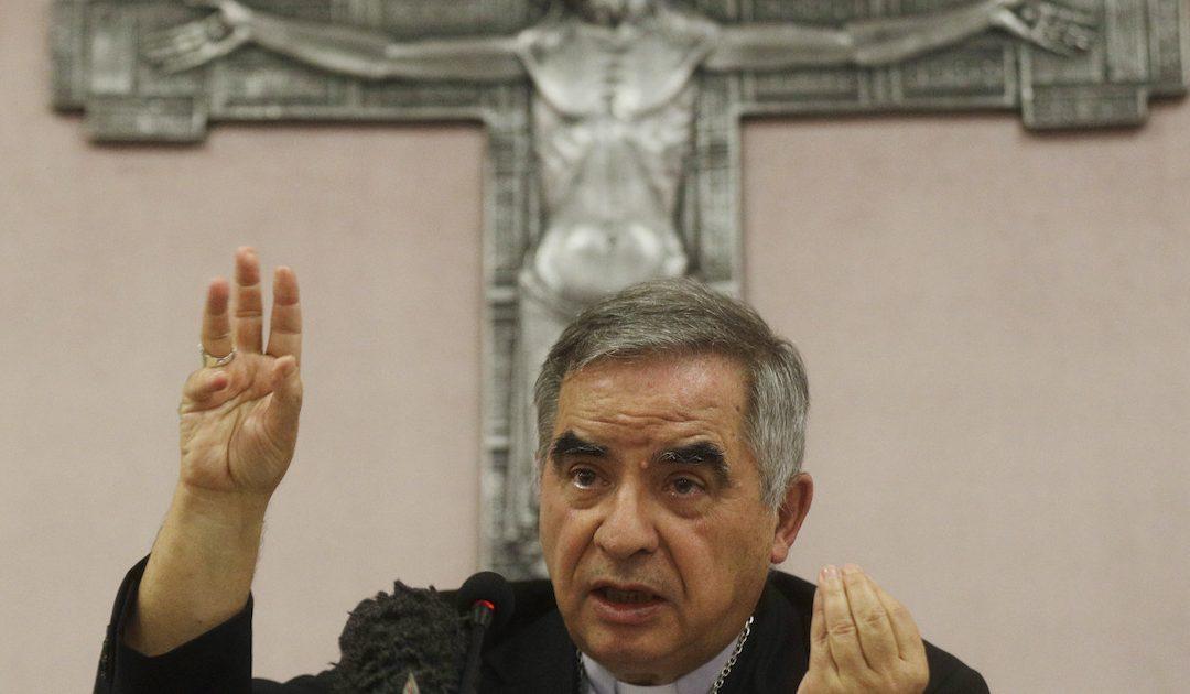 Cardinal Angelo Becciu (AP Photo/Gregorio Borgia)