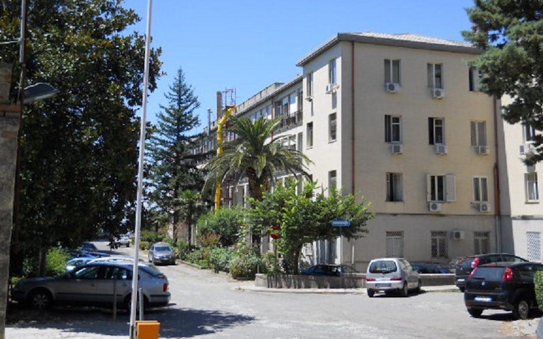 Gli uffici dell'Asp di Catanzaro