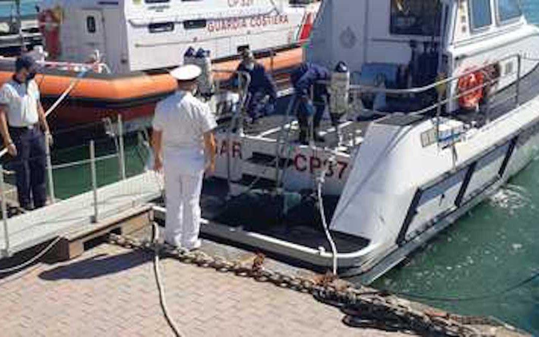 Le operazioni della Guardia costiera