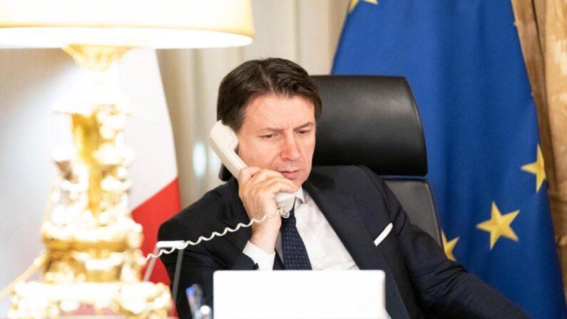 Il premier Conte telefona al poliziotto calabrese che ha sventato una violenza su una donna