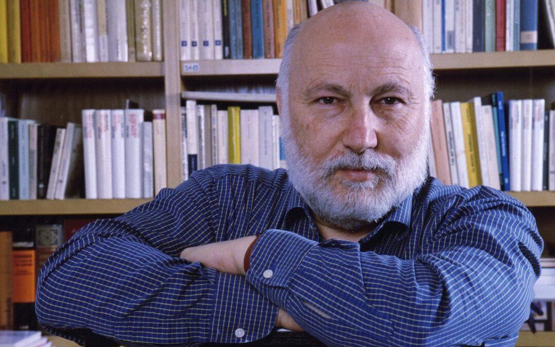 Il prof. Domenico De Masi, il sociologo pioniere del telelavoro