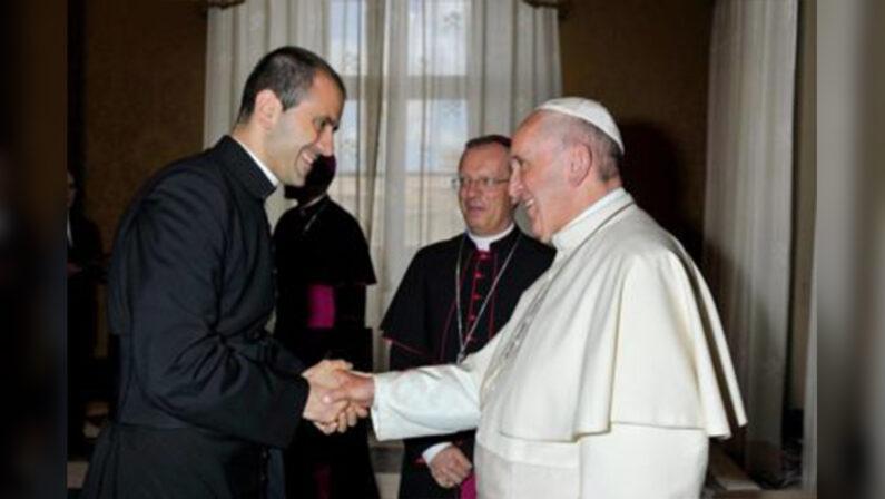 Don Fabio Salerno nuovo segretario personale di Papa Francesco