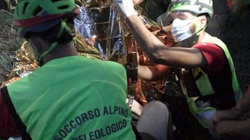 Pollino, coppia di escursionisti salvata dopo ore di operazioni di soccorso