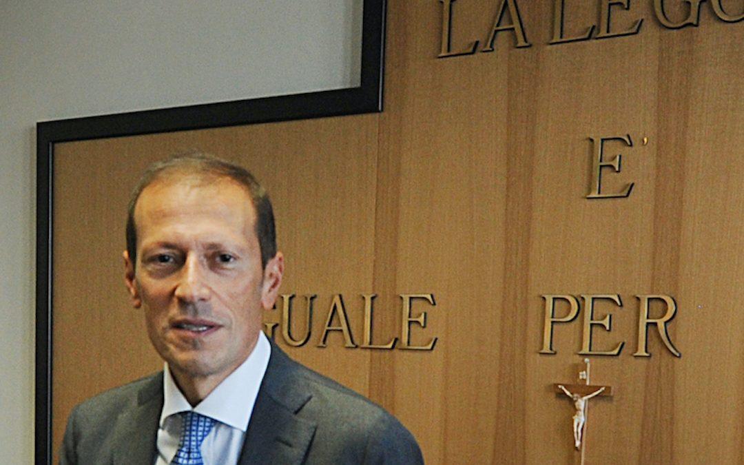 Eugenio Facciolla, oggi magistrato al Tribunale di Potenza, con le funzioni di giudice civile