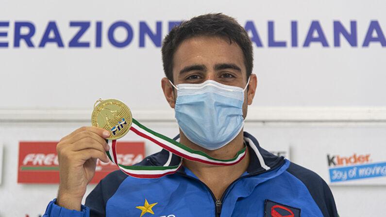 Tuffi, doppio trionfo per il calabrese Giovanni Tocci agli assoluti estivi di Bolzano
