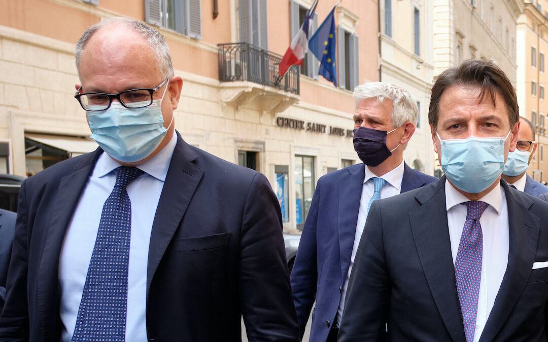 Roberto Gualtieri e Giuseppe Conte