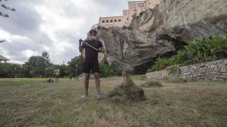 La Guarimba riparte pulendo il Parco La Grotta