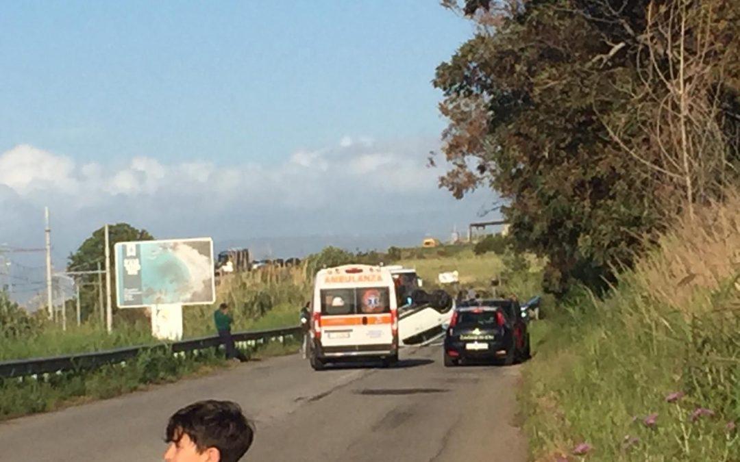 VIDEO – Incidente stradale nel Vibonese, i soccorsi con l'elicottero per una donna in gravi condizioni