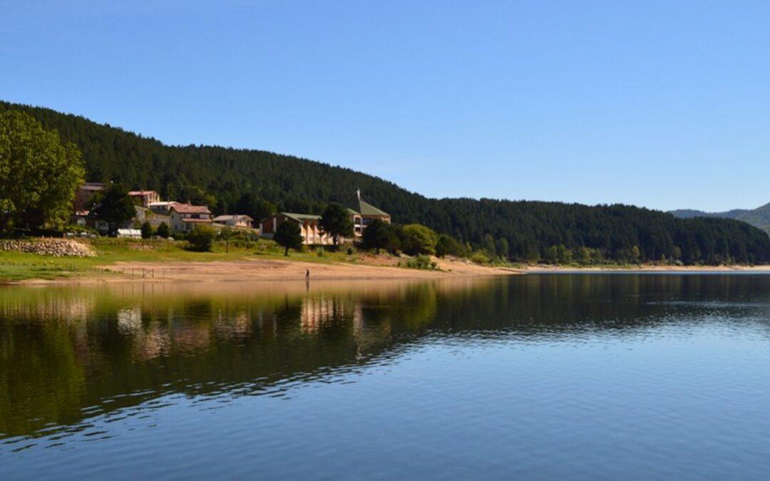 Il Lago Arvo a Lorica
