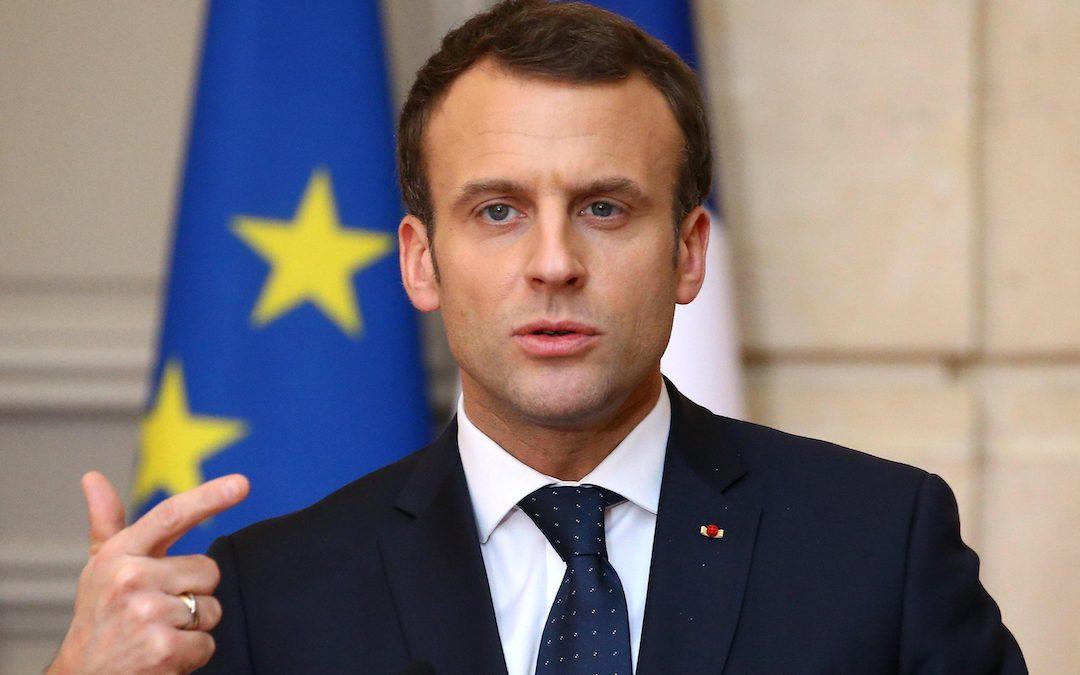 Il presidente Macron