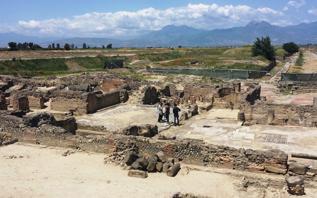 Gli scavi archeologici di Sibari