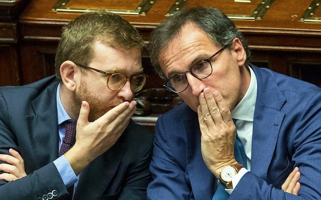 Giuseppe Provenzano e Francesco Boccia (Foto Roberto Monaldo/LaPresse)
