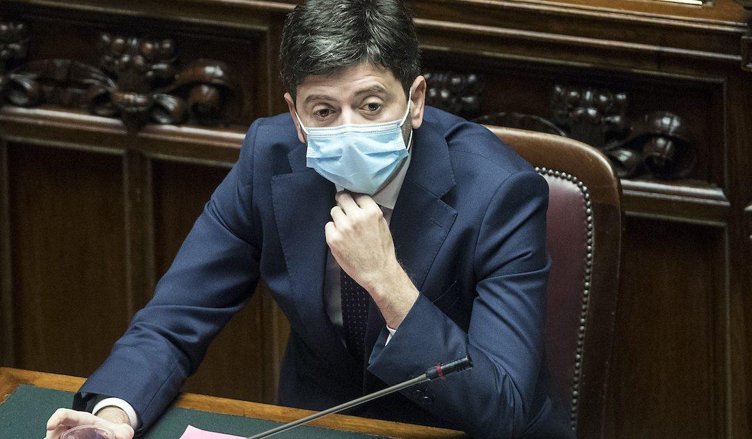 Il ministro per la Salute, Roberto Speranza