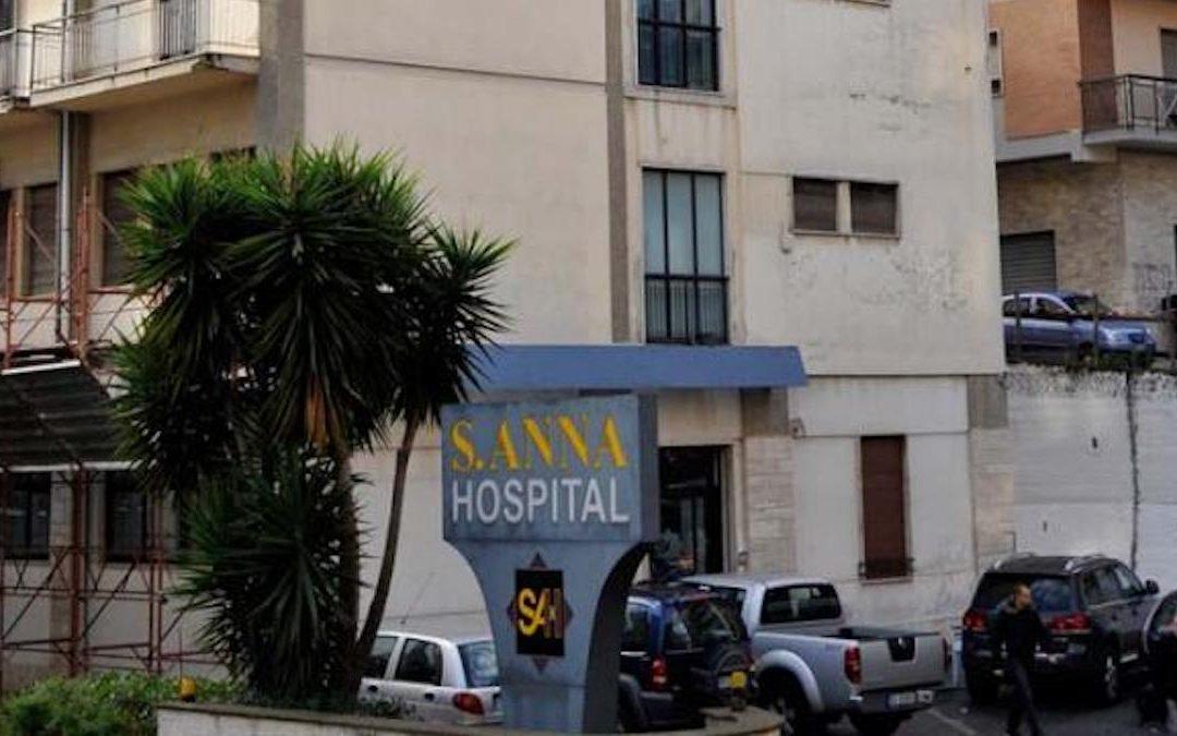 La clinica Sant'Anna di Catanzaro
