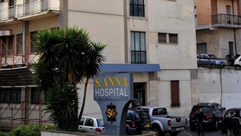 Sant'Anna Hospital, rinnovo dell'accreditamento entro il fine settimana