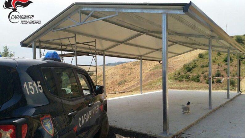 Sequestri e denunce nel Cosentino per due opere edilizie abusive