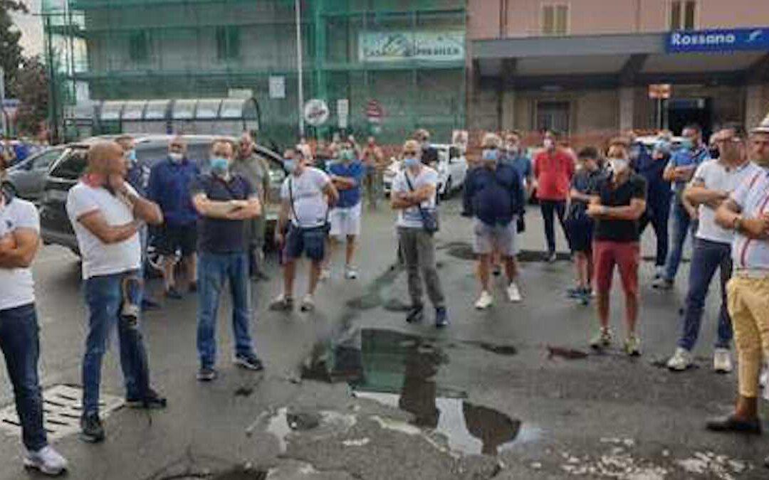 La protesta dei lavoratori Simet