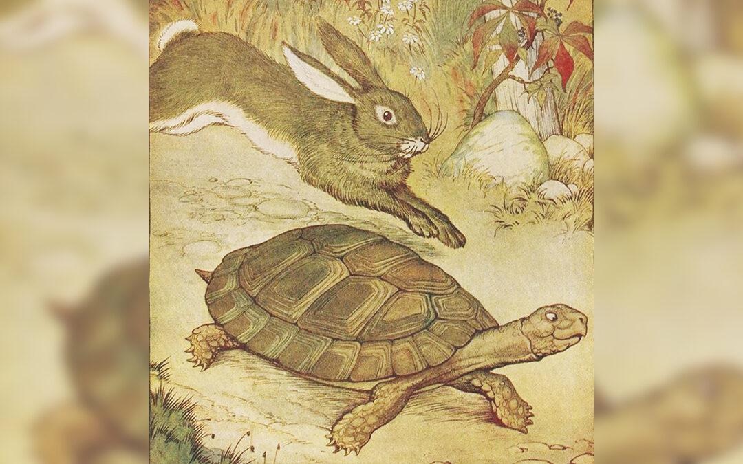 Illustrazione di Milo Winter tratta da una favola di Esopo del 1919