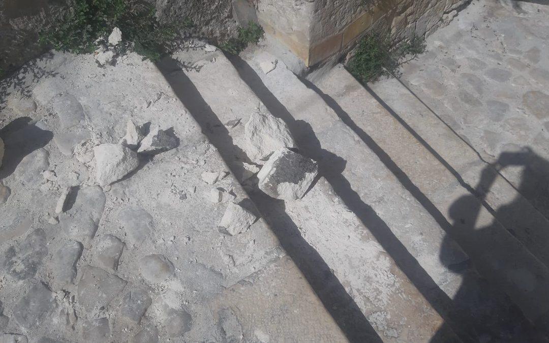 I danni provocati da alcuni giovani nei Rioni Sassi