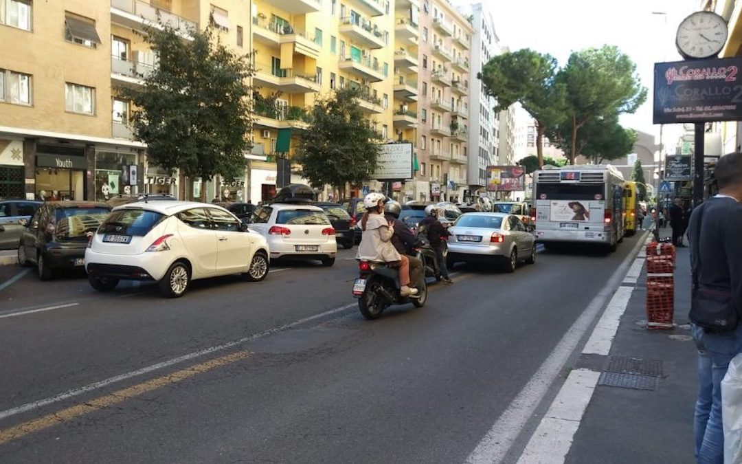 Viale Eritrea a Roma