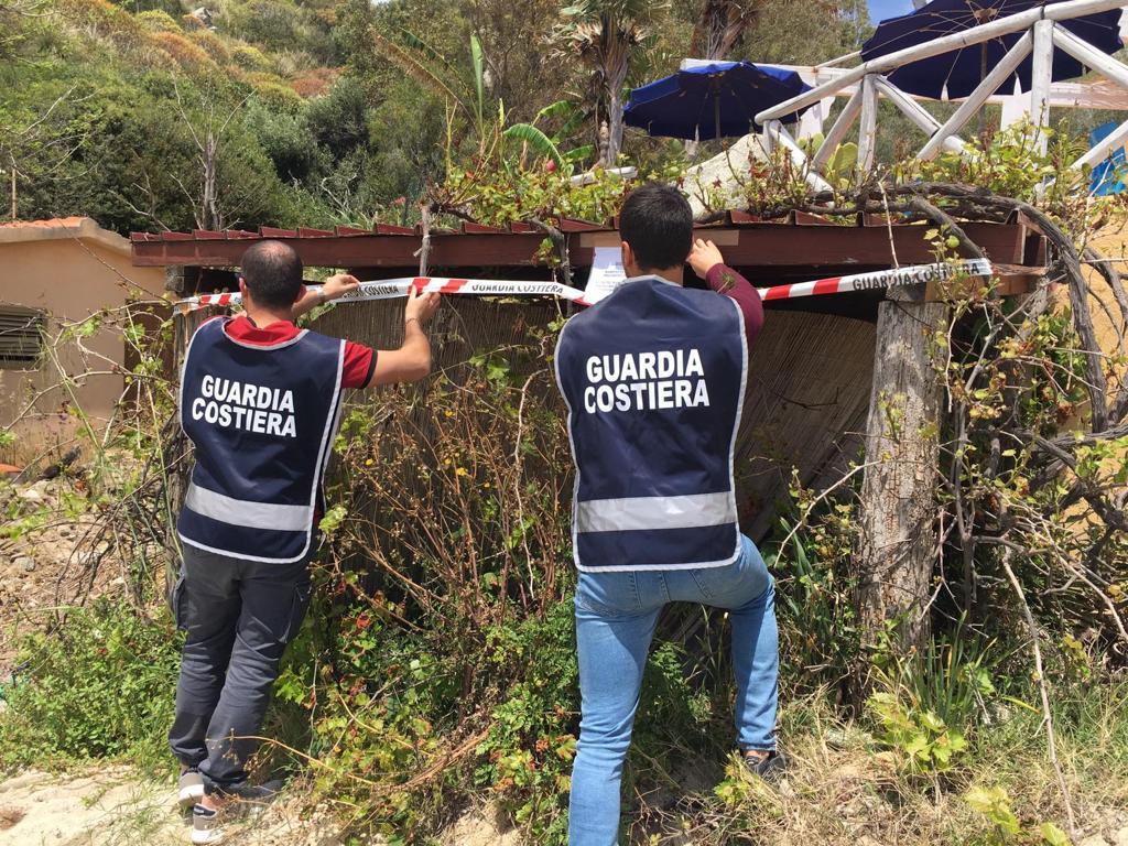 Sequestrata una costruzione abusiva in provincia di Vibo Valentia