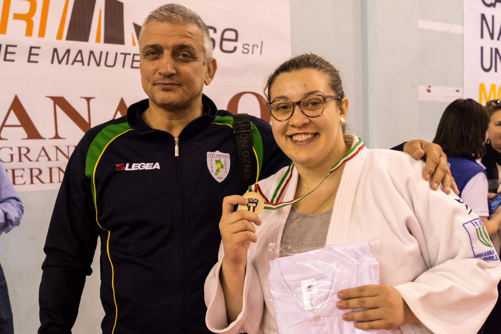 Studio e sport, la storia di Debora judoka calabrese alle Universiadi: «Una grande opportunità»