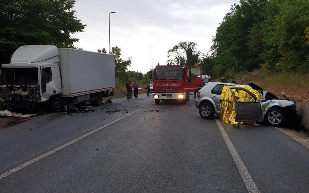 L'incidente stradale che ha causato la morte di tre persone a Spadola
