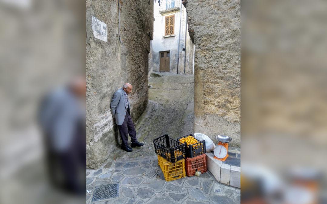 Lo scatto di Francesco Mangialavori diventato virale