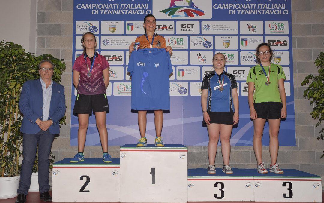 Tennistavolo, 13enne Carnovale sconfitta in finale  La giovane vibonese si arrende solo con una 39enne