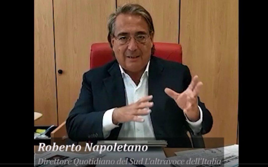 VIDEO – Il Quotidiano del Sud L'Altravoce dell'Italia sbarca a Salerno La presentazione del direttore Roberto Napoletano