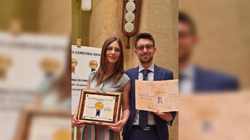 """Alla birra calabrese """"Darkana"""" il premio Cerevisia  Vinto il terzo posto tra le """"Alta fermentazione"""""""
