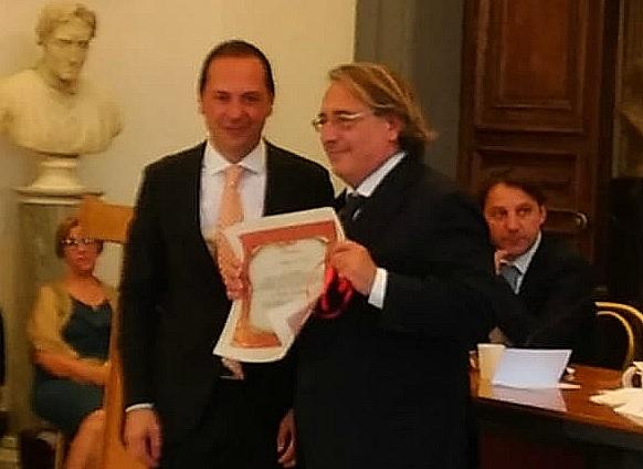 Assegnate a Roma le medaglie d'oro Calabria 2019Tra i premiati il direttore del Quotidiano del Sud Roberto Napoletano