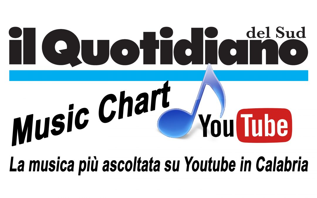 CLASSIFICA – I 10 brani più ascoltati in Calabria su Youtube  Quotidiano Music chart Top Ten settimana 1-7 luglio 2019