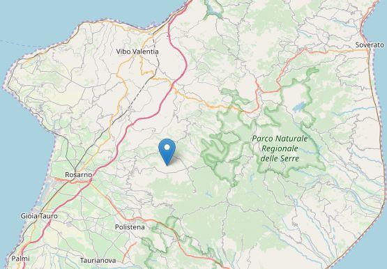 Oltre una decina di scosse di terremoto in poche ore in CalabriaSan Pietro di Caridà al centro di una sequenza sismica
